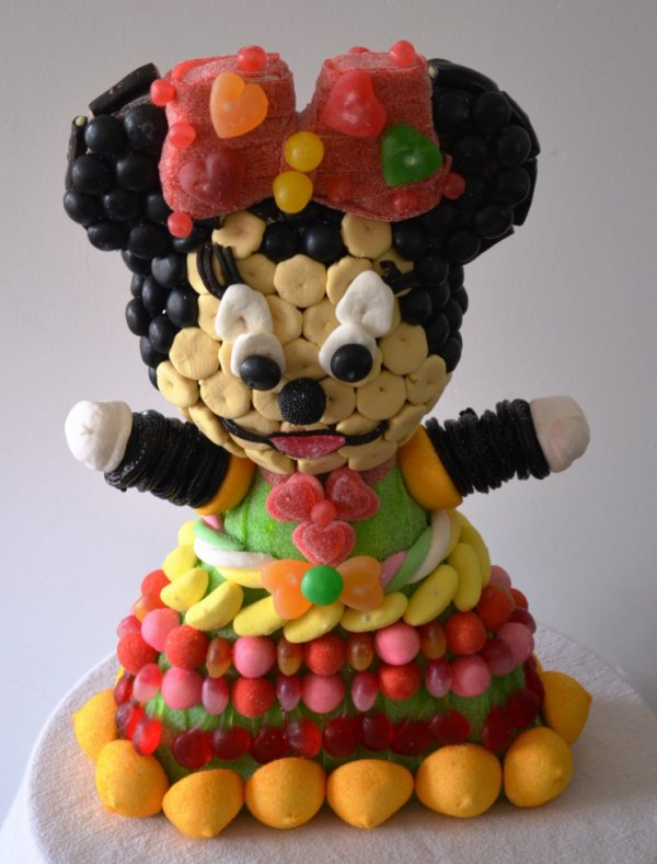 Minnie en bonbon