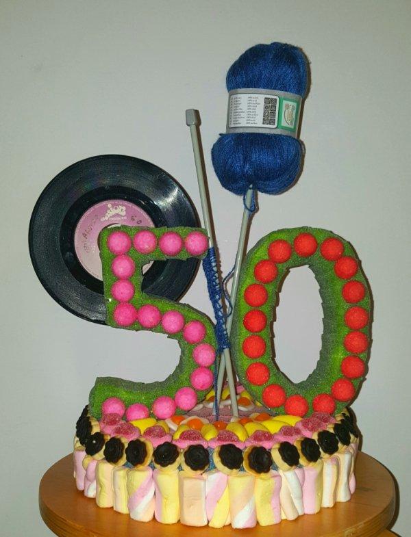 50 ans en bonbon