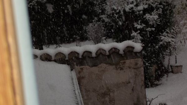 weekend sous la neige