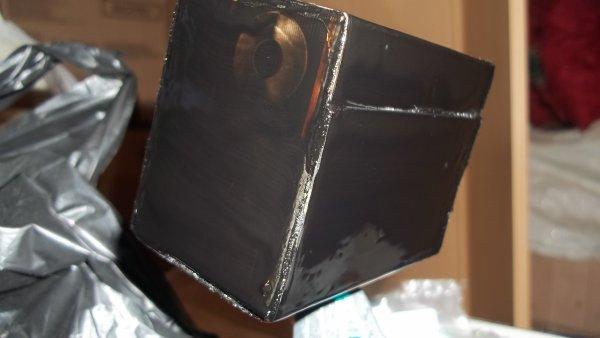 fabrication d'une cuve a lisier