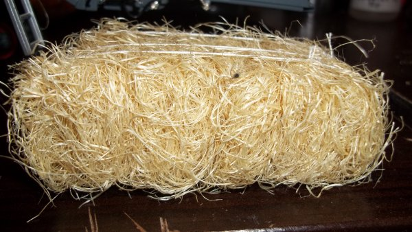 fabrication de botte de foin