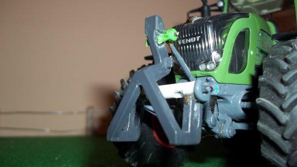 fabrication d'adaptateur pour relevage avant pour l'axion et le fendt