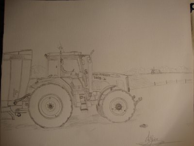 mf 7495 que je vien de dessiner !!