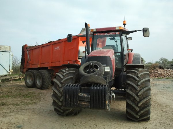 case mxm 175 avec Brochard