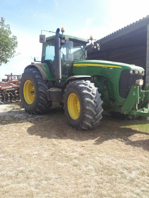 tracteur du copain a mon cousin