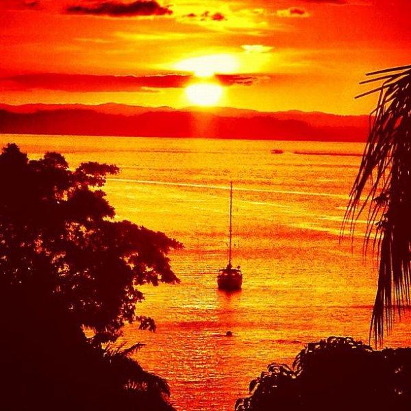 Sublime coucher de soleil