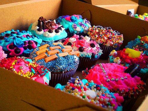 Cupcakes très rigolos
