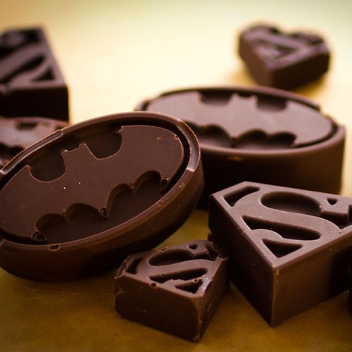 Chocolat Superman & Batman