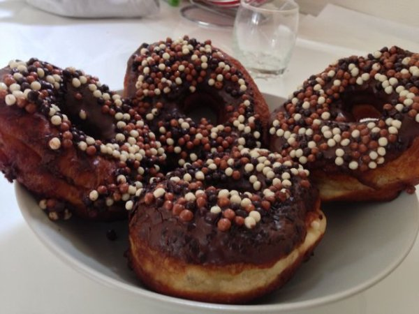 Donuts & pépites de chocolat