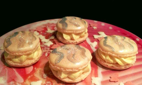 Macarons vanille bourbon