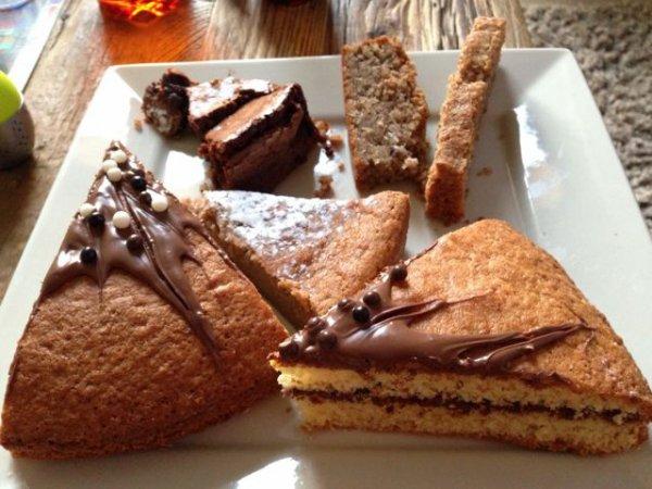 Gâteaux et pancakes