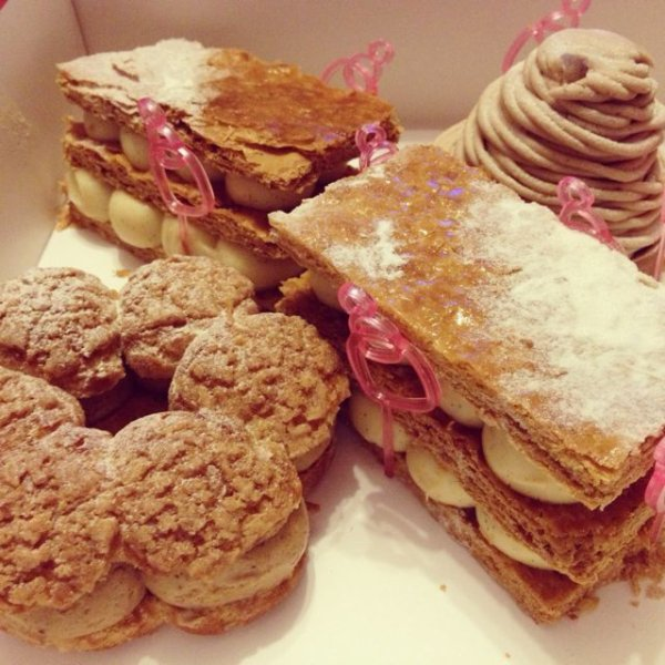 Paris-Brest, Millefeuille, Pancake, et Cupcake