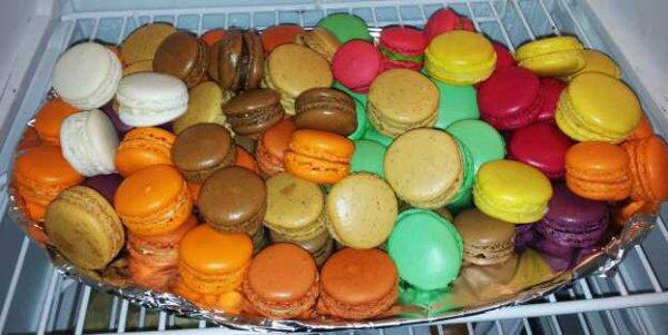 Plateau de macarons