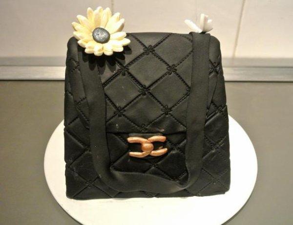 Gâteau sac Chanel 2.55