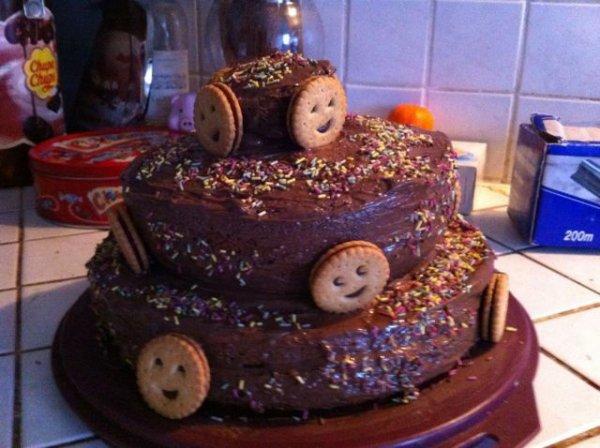 Gâteau à étages BN au chocolat
