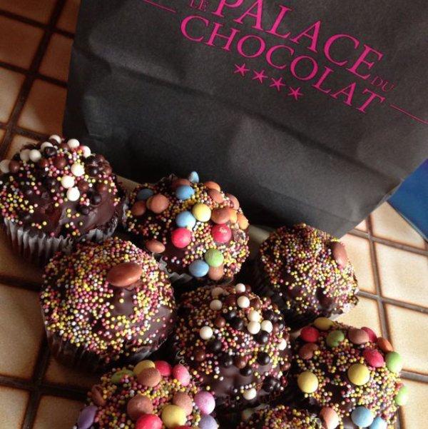 Cupcake chocolat !