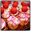 Cupcakes amande/pomme d Amour