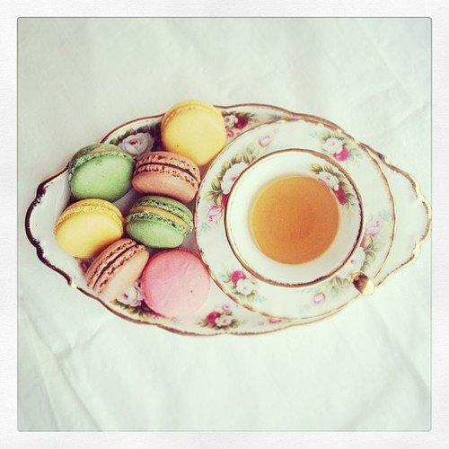 Thé de l'après midi