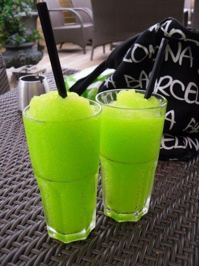 Granité au citron vert