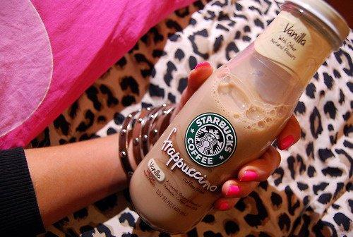 Starbucks Vanille et chocolat frappé