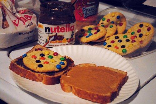 Cookies maison et Nutella!