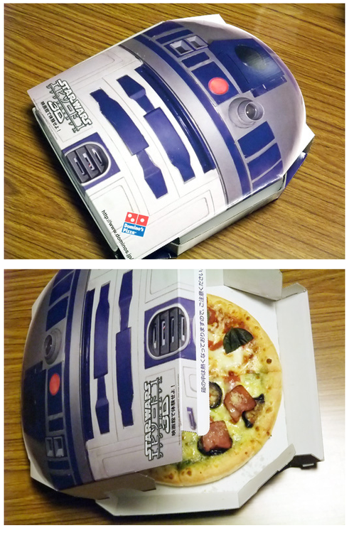 Boite de Pizza R2D2 (Star Wars)