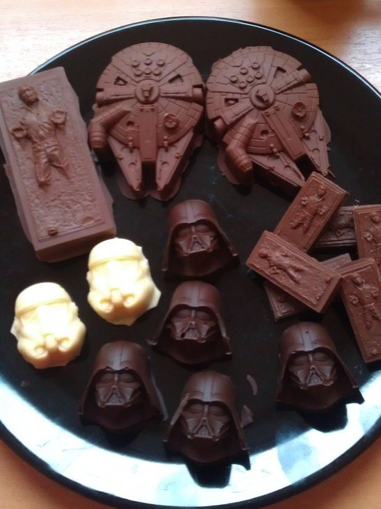 Chocolats Star Wars