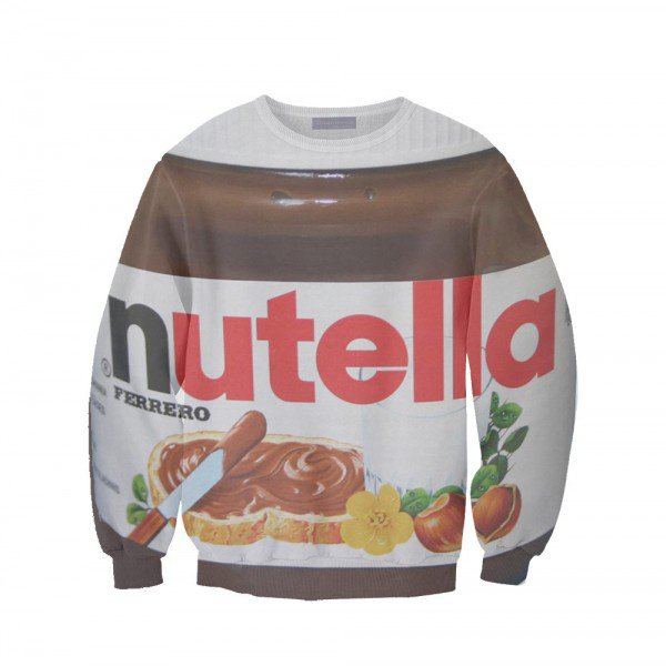 Sweat shirt Nutella !