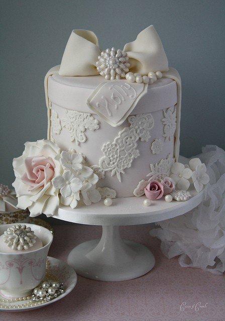 Gâteau romantique