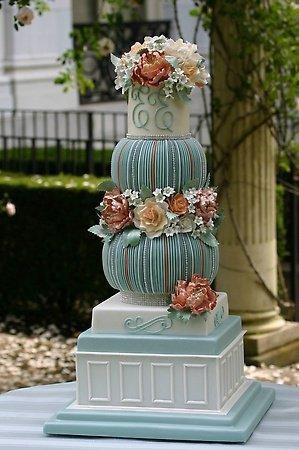 Sublime gâteau de mariage