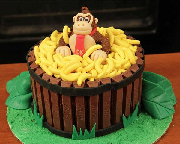 Gâteau Donkey Kong