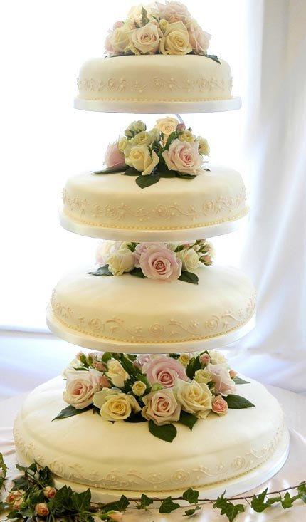 Gâteaux fleurs jaunes