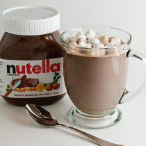 Nutella et chocolat au lait