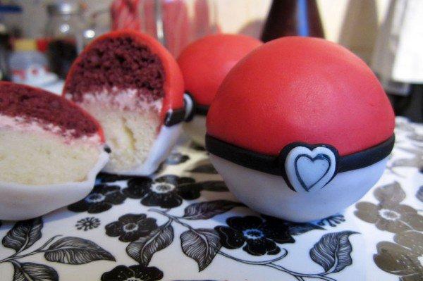 Gâteaux pokeball (pokemon)
