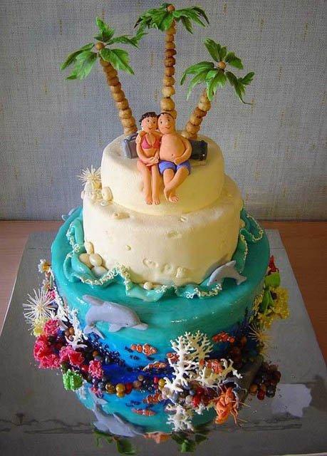 Gâteau ile paradisiaque