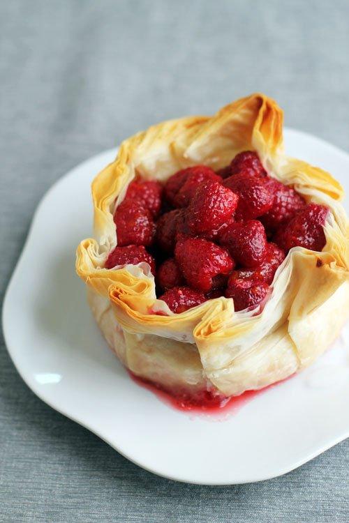 Petite tarte aux fraises
