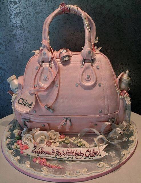 Gâteau sac de luxe Chloé