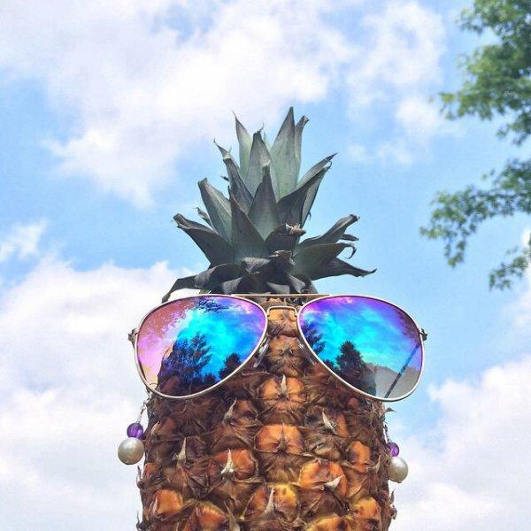 Ananas qui bronze ;-)