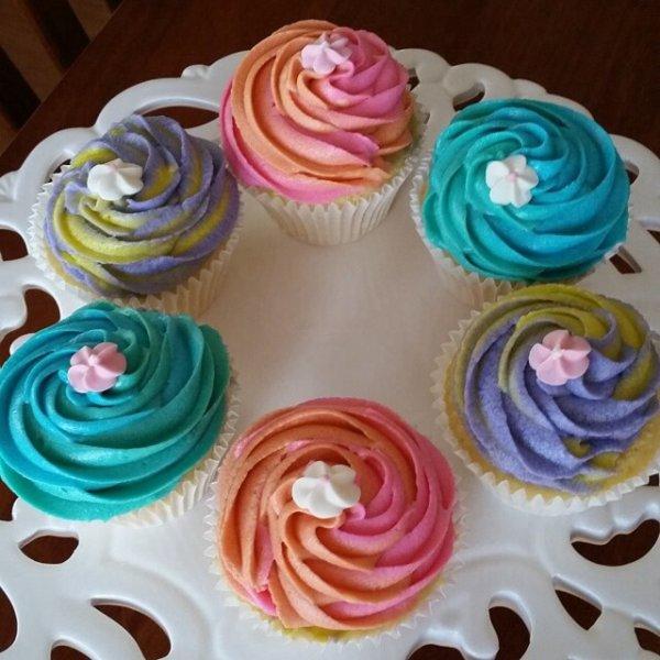 Cupcakes bi fruits