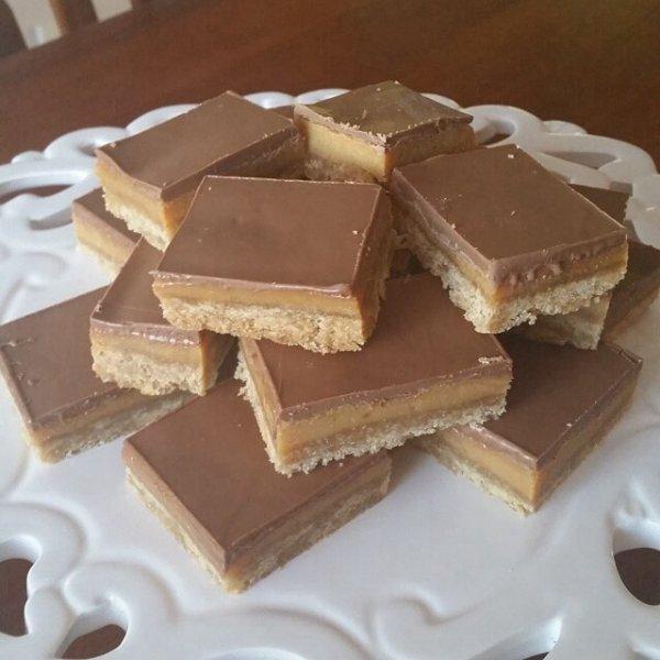 Opéras au chocolat amande