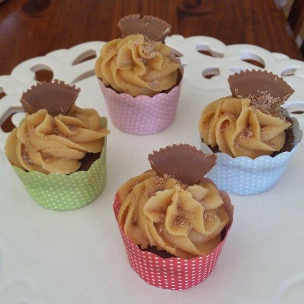 Cupcake noisette chocolat