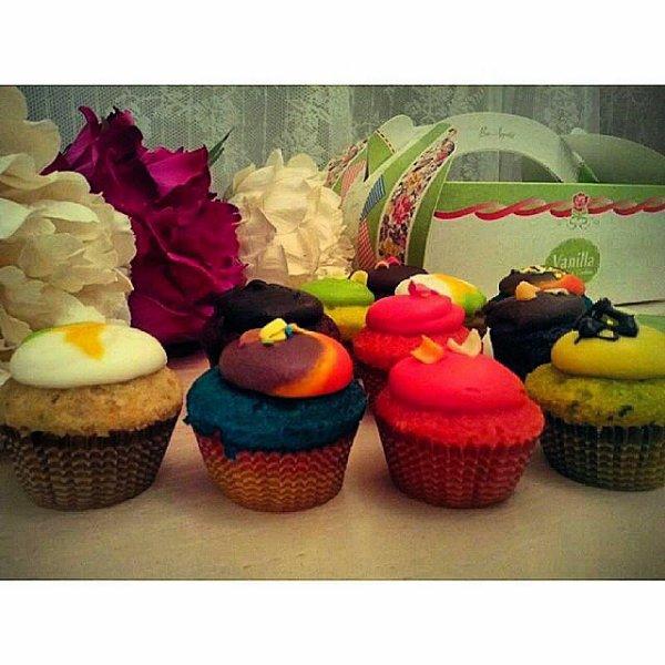 Cupcakes surprise party