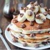 Pancakes pépites de chocolat et banane