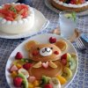 Pancakes en forme de nounours