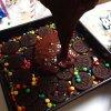Préparation gâteau Oreo et Smarties