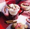 Lait de Noel, marshmallow et cannelle