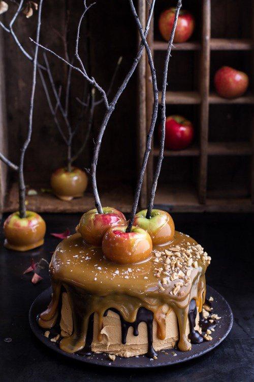 Gâteau au caramel et pomme Granny