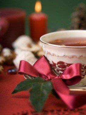 Tasse de thé pour Noel