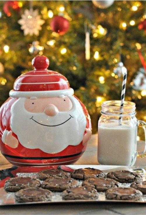 """Théiere père noel et lait de Noel """"lait de poule"""""""
