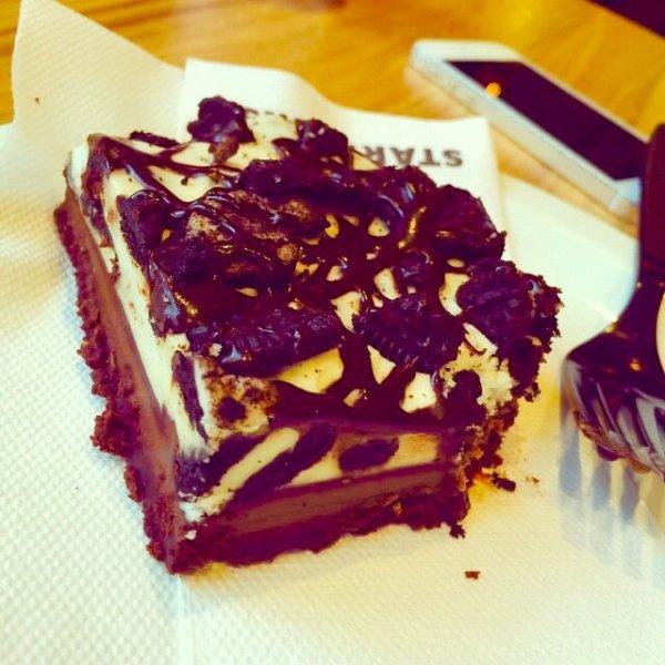 Gateau au chocolat et oreo